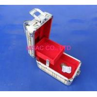 Wholesale Lightweight PVC Aluminum Cosmetic Train Case With Mirror For Makeup Artist from china suppliers