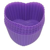 Buy cheap Silicone Kitchenware Silicone Baking Cups Mini Heart(HS-1064) from wholesalers