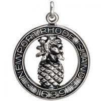 Buy cheap Sterling Silver Newport 1639 Pineapple Charm from wholesalers