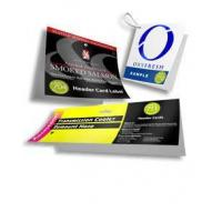 Buy cheap Header Cards & Label Header Cards from wholesalers