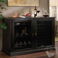 Buy cheap Furniture Style Cellars Siena Mezzo Wine Credenza - Nero and 28 Bottle Touchscreen Wine Refrigerator from wholesalers