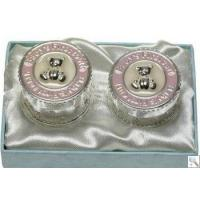 Buy cheap Baby Girl Tooth & Curl Silver Keepsake Box from wholesalers