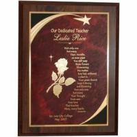 Buy cheap Personalized Star Teacher Plaque from wholesalers