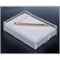 Buy cheap Acrylic office paper holder from wholesalers