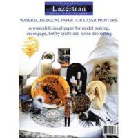 Buy cheap Lazertran laser decal paper from wholesalers