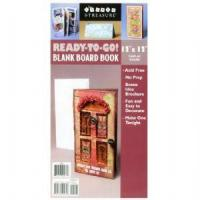Buy cheap Blank Board Book Cover - 12x6 (folded) from wholesalers