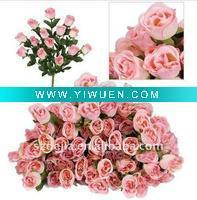 Buy cheap Artificial Crafts(970) Artificial flower bouquet- rosebuds for wedding decoration from wholesalers