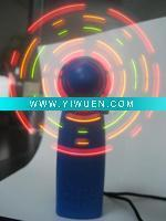 Buy cheap Artificial Crafts(970) MINI flashing fan from wholesalers
