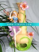 Buy cheap Artificial Crafts(970) Resin Angel Figurine Decorative Vase,Resin Crafts from wholesalers
