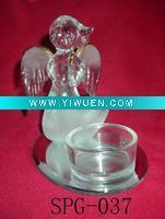 Buy cheap Artificial Crafts(970) Fly angel design fragrance glass oil burner from wholesalers
