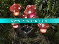 Buy cheap Artificial Crafts(970) Poly Garden Mushroom Solar Light from wholesalers