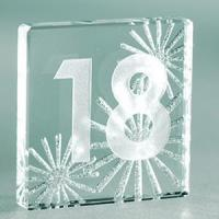 Buy cheap Spaceform Sparkly Silver 18th Birthday Miniature Token from wholesalers