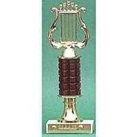 "Wholesale 10"" Lyre Trophy from china suppliers"