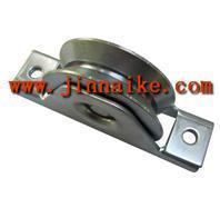 Buy cheap Sliding Gate Wheel-Y Groove Steel Ball Bearing U Groove Wheels with axis for Sliding Gates from wholesalers