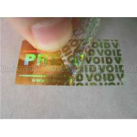 Buy cheap Hologram Labels Tamper Evident Hologram Label from wholesalers