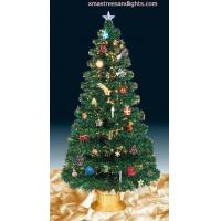 Buy cheap Green Fiber Optic Tree With Full Decorations from wholesalers