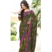 Buy cheap Charming Pure Georgette Sari DN9123 from wholesalers