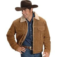  Scully Sherpa Lined Boar Suede Leather Jacket Manufactures
