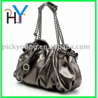 Buy cheap PU Handbags 2011 Women fashion Oil leather bags,HOT! from wholesalers