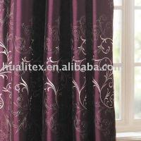 Buy cheap 100% Polyester Dupion Slub Faux Silk Curtain Fabric from wholesalers