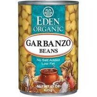 Buy cheap Eden Organic Garbanzo Beans, No Salt Added, 15-Ounce Cans (Pack of 12) from wholesalers