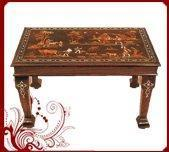 Buy cheap Rosewood rectangular table village Design from wholesalers