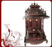 Buy cheap Wooden Pooja Temple from wholesalers