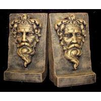 China Bearded Gothic Man Bookends on sale