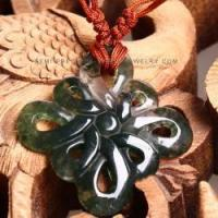 Wholesale Wholesale Chinese knot moss agate pendant NYAN0092 from china suppliers
