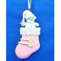 Polymer clay Christmas Ornament Holiday Gift