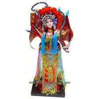 China Collectible Chinese Doll - Chinese Opera Doll / Mu Guiying #191 on sale