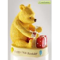Buy cheap Winnie the Pooh Happy 18th Birthday Figure A21111 SRP 15 from wholesalers