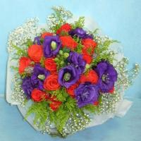 Wholesale 15 Red Rose Bouquet from china suppliers