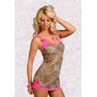 Wholesale Plus Size Leopard Print Chemise - 15% off from china suppliers