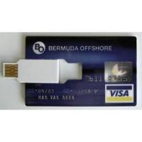 Buy cheap Originally issued by Bank-Americard VISA card shape pen drive ( SB004 ) from wholesalers