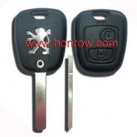 Buy cheap Peugeot 2 Button remote key shell with 307 key blade from wholesalers