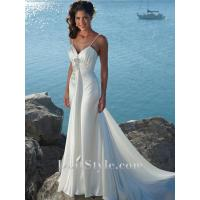 Buy cheap Wedding Dresses A-line Spaghetti Straps Sweetheart Beading Wedding Dress from wholesalers