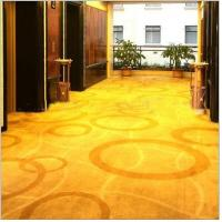 Buy cheap Nylon print floral carpet hotel from wholesalers