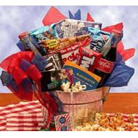 Buy cheap Gourmet Gift Baskets Blockbuster Movie Night from wholesalers