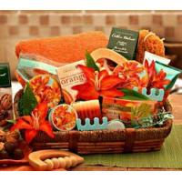 Buy cheap Thank You Essential Healing Spa Luxeries Gift Basket from wholesalers