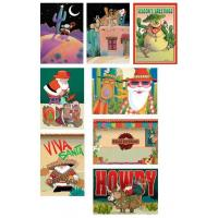 Buy cheap Christmas Cards Western Christmas Cards Variety Holiday Pack from wholesalers