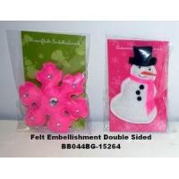 Wholesale Holiday Felt Embellishments from china suppliers