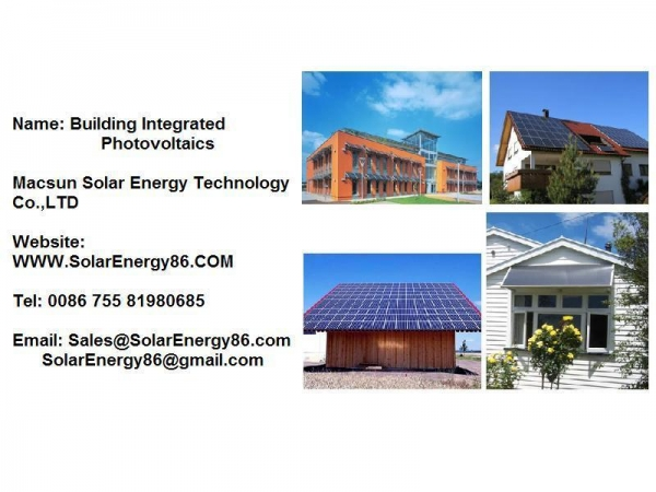 Quality Solar Power Station Building Integrated Photovoltaics for sale