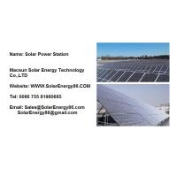 Solar Power Station Solar Power Station Manufactures