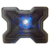 Buy cheap 1 Fan Black USB Notebook Laptop Cooler Cooling Pad from wholesalers