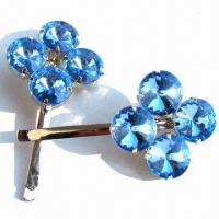Wholesale H-33 Gemstone Hair Barrette from china suppliers