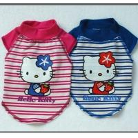 Buy cheap Hello Kitty Stripe Dog T-shirt(GR 2224) from wholesalers