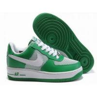 Buy cheap Womens Nike Air Force Ones 2011 Green White from wholesalers