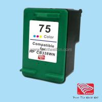 China Ink Compatible HP 75 (CB338WN)Inkjet Cartridge on sale