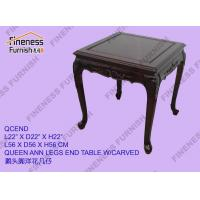 END / SIDE TABLES Product NameQUEEN ANN LEGS END TABLE W/CARVED